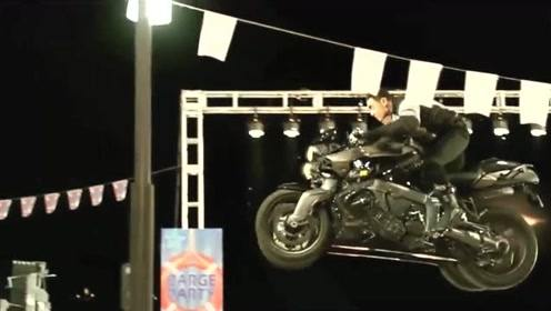 这已经不仅仅是摩托了,飞一般的感觉,大佬厉害!
