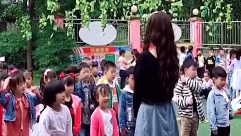 自从幼儿园开始教舞蹈后,爸爸接送孩子的频率变高了