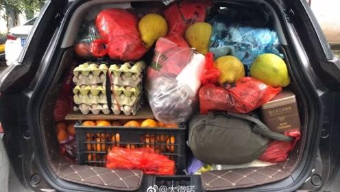 后备箱装点水果被罚200?车主:是后备箱不能用,还是水果不能吃