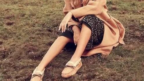 在越来越冷的天气里,这样一双百搭温暖的豆豆鞋你肯定需要