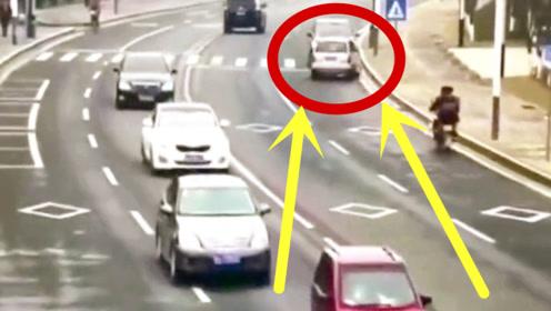 豪车逆行引发车祸,车主的行为让人厌恶,简直丧心病狂!