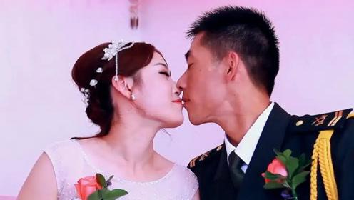 海南28岁空姐,苦等兵哥哥10年,今天终于来娶她,猜猜啥军衔?