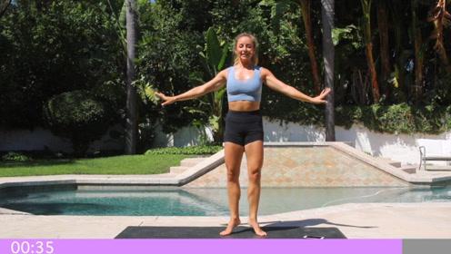 瘦小腿的来了!5分钟芭蕾形体练习,专攻小腿,打造紧致纤细感