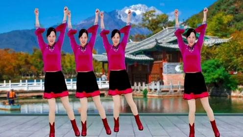 摇摆时刻!32步广场舞《敢作敢当》,每天跳一遍轻松一整天