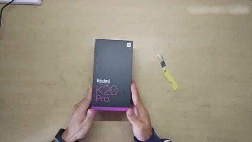2299元的红米K20Pro开箱 上手的那一瞬间 颜色真是太漂亮了