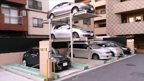 日本国土面积那么小,为何没有停车问题?看完这设计不得不佩服