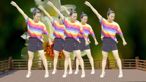 DJ广场舞《多情的雨夜更想你》,美女动人舞姿,火热性感