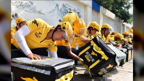 美国游客第一次来中国,看到外卖后迷茫了:你们管这叫外卖