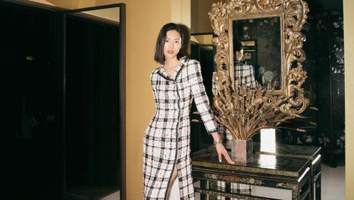 刘雯:穿梭在时尚空间,仿佛置身在香奈儿电影中!