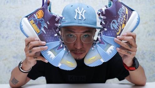 球鞋开箱:李宁 x XLARGE 反伍一代,高端外场实战鞋!