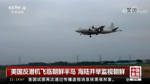 美国反潜机飞临朝鲜半岛 海陆并举监视朝鲜
