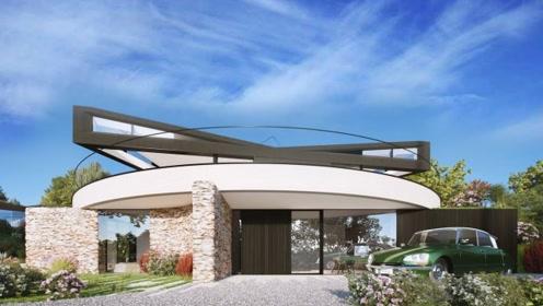 可以360度自由旋转的房子,白天下来任何时候都能晒到太阳