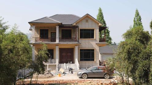 为什么越来越多的人喜欢回家乡盖别墅或农家小院?