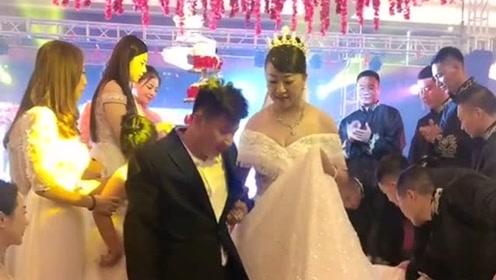 42岁新娘嫁给了30多岁的小伙,一路走来太不容易,真心的祝他们幸福!