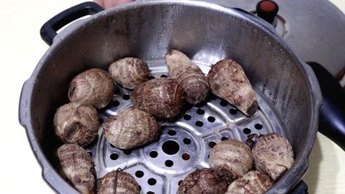 芋头好吃又简单的做法,少油更健康,一学就会!