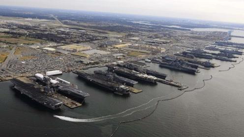 航母遭遇暴风,该如何自救?美国第三舰队曾勇闯台风眼,全军覆没