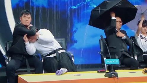 王牌对王牌:陈赫这动作太帅了,就这坦然的样子就很搞笑