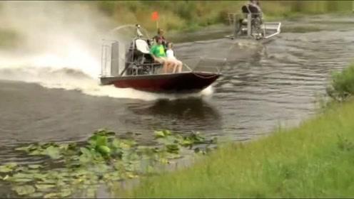 德国民用水陆两用船,科技真先进!