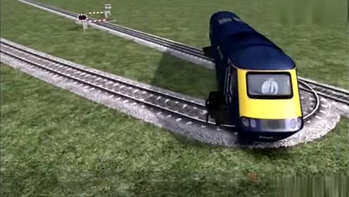 一小伙发明了火车掉头轨道,这设计真是太好了