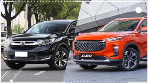 迎接新生代SUV挑战,CR-V对比上汽MAXUS D60