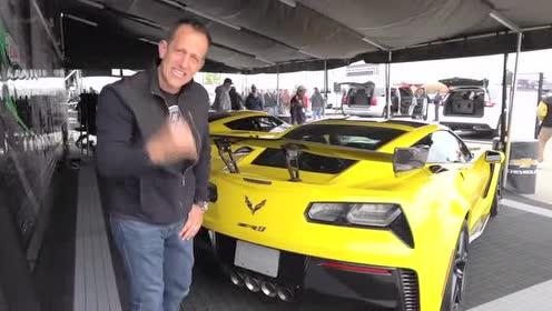 外媒介绍2019 款Corvette ZR1的后尾部外观