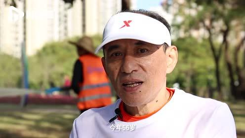 广州60后大叔坐轮椅跑马拉松,5年超过30场:用手臂丈量赛程