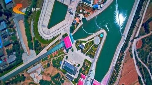 西黑山闸口,南水北调工程重要咽喉要塞,南水在这里被一分为二