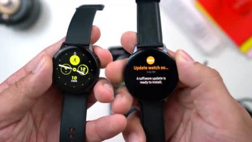 三星 Galaxy Watch Active 2运动手表开箱评测