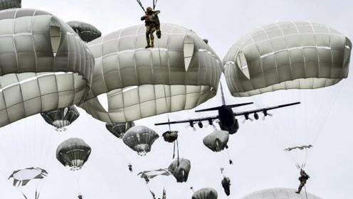 战场上伞兵落地后,怎么处理降落伞?丢弃不管,还是仔细收好?