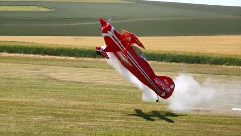 让人尖叫不断的RC航模飞行表演,真过瘾,玩这个需要什么段位呢
