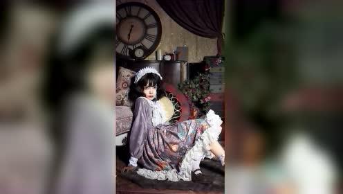 小姐姐穿着Lolita的样子,你们就说有多可爱吧?