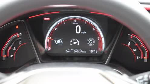 2020款 本田 Civic Si,内饰细节展示分析