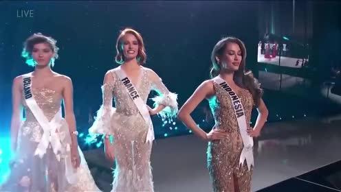 2019环球小姐前5,每一名都美丽动人