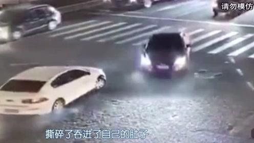 租来的不心疼?男子竟开共享汽车在闹市漂移逆行