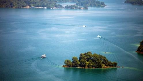 华南第一大湖,水域面积370平方公里,相当于杭州西湖的68倍