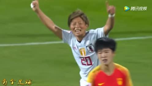 跑累了?日本打进第二球时!中国女梅西散步几十米眼神防守