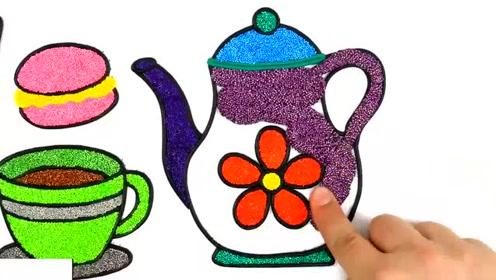 巧手小制作:做可爱茶壶 茶杯