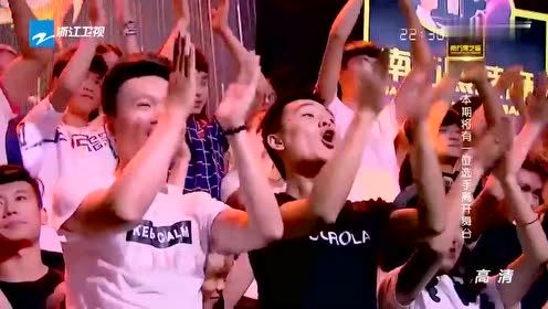 SNH48助阵表演《我不是明星》