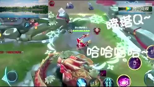 王者荣耀:会飞的超级兵真的是飘了!貂蝉这个技能是开挂了吗!