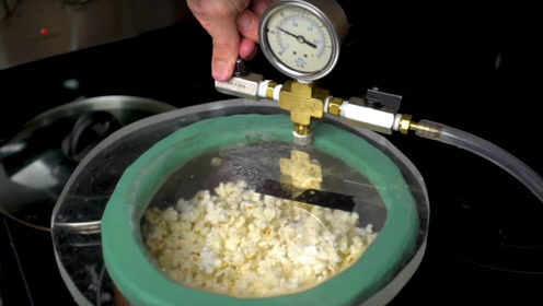 在真空中爆出的爆米花和普通的有什么区别?老外做测试,别被商家知道