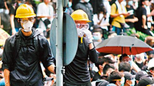暴徒的头盔从哪来?乱港分子道歉信泄密:台湾一夜间送来大量头盔