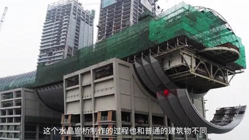 重庆最引人瞩目的水晶连廊,横跨4座摩天大楼,老外酸了!
