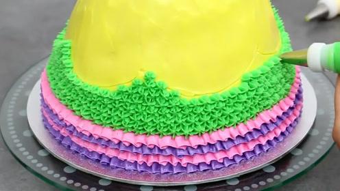 一次看懂4种挤花嘴,分分钟变烘焙小能手,所有公主裙蛋糕都会做