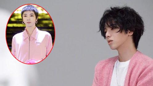 华晨宇现在走啥风格?粉色套装还配几何耳环,全身打扮太女性化了