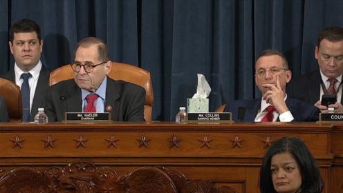 美国众议院司法委员会通过特朗普弹劾条款!预计下周进行全院表决