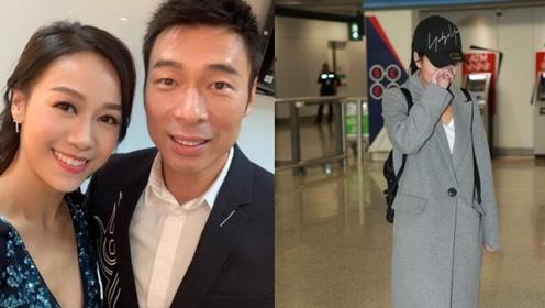 黄心颖返港见记者落泪 称陪家人拒回应许志安相关