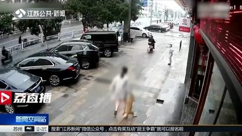 醉了,这只无助的秋田,被两名醉酒女子偷走后一路拖回宾馆……