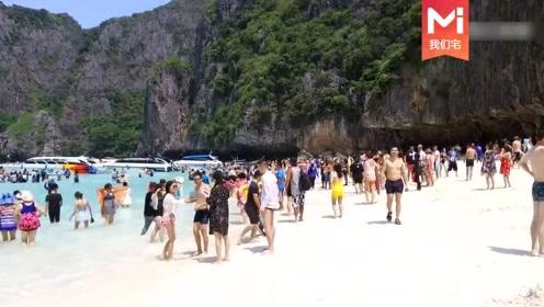 实拍普吉岛最漂亮的情人滩,惊呼已被中国游客占领,满满的全是国人