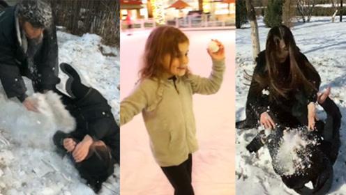 冬日生活:这样的打雪仗才叫真正打雪仗!学会最后一个无敌!