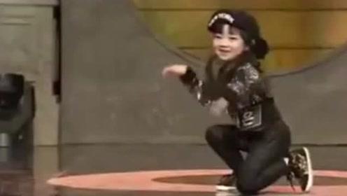 韩国舞蹈神童罗夏恩跳《Girl's Day》的背带舞,萌到爆